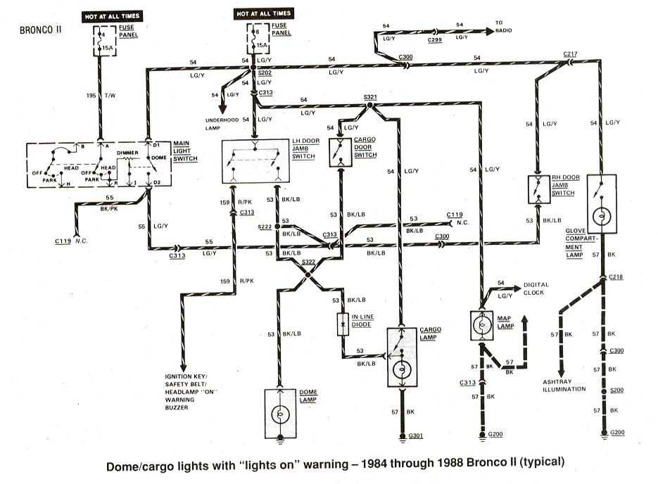 Diagram_domecargo_1984to1988_broncoII?resize=665%2C489 1997 ford ranger 2 3 wiring diagram wiring diagram,2005 Ford Ranger Complete Wiring Diagram