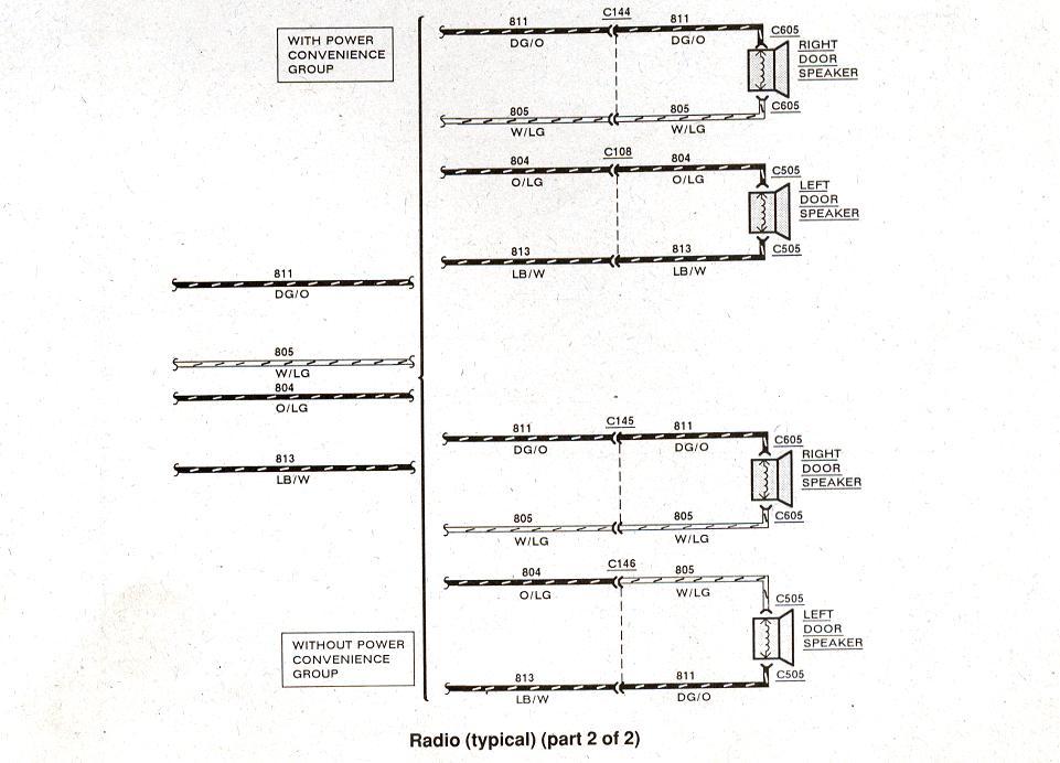 1998 Ford Ranger Radio Wiring Diagram - Wiring Diagram