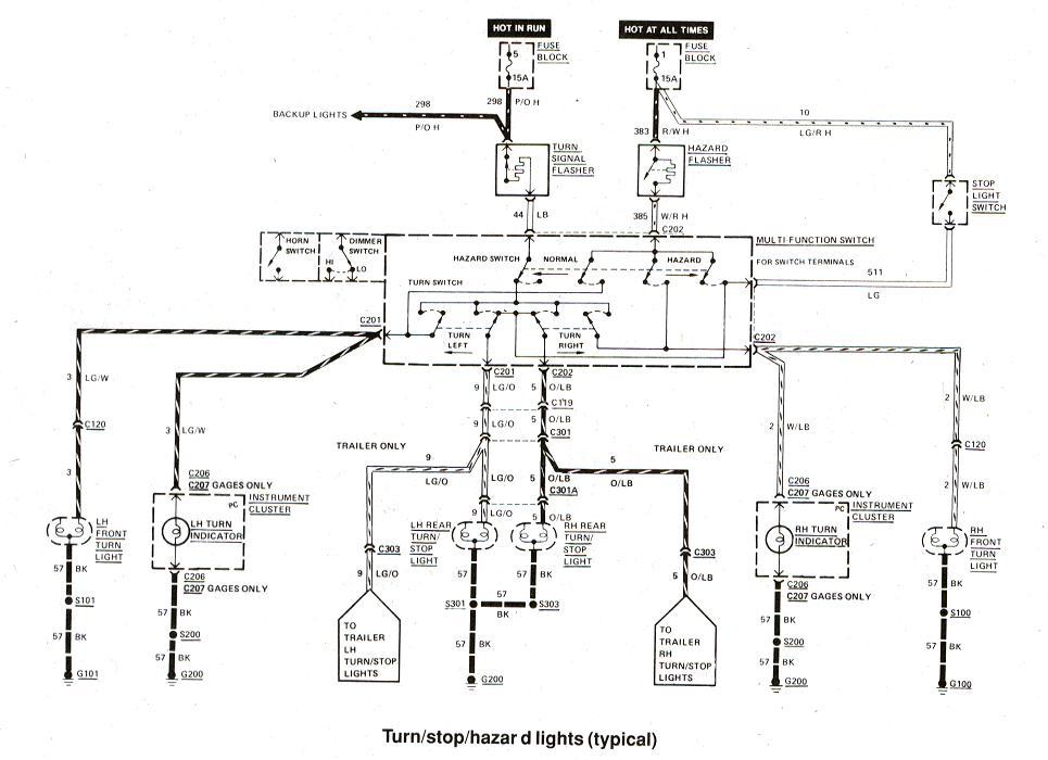 1993 F250 Wiring Diagram Switch Headlight