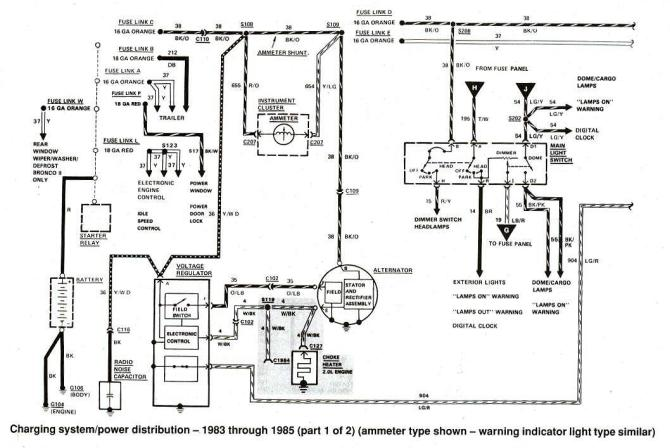1992 ford ranger wiring diagram  description wiring
