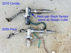 Toyota Electric Power Steering (EPS) Conversion : The