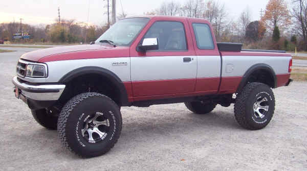 93 Inch Lift Ranger Pa 3 Body Ford