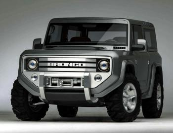 2004 Ford Bronco Concept Vehicle