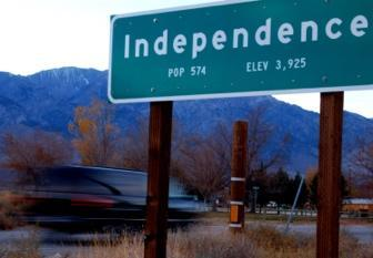 Independence Sign