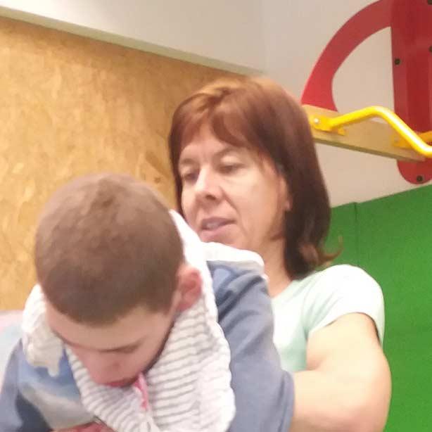 Anja: Dipl. Behindertenpädagogin & Heilerziehungspflegerin