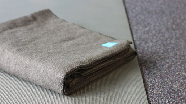 Organic Yoga Blanket - therAPP Branded