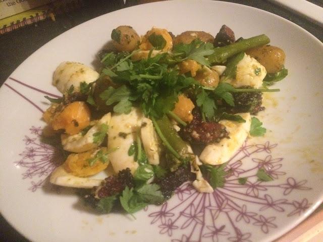 Recipe: Chorizo and Egg Salad