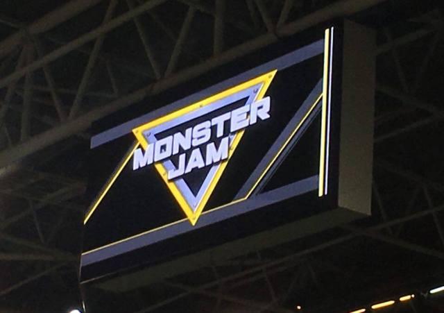 Monster Jam Cardiff 2016