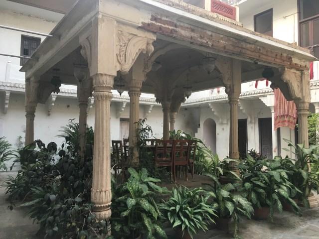 Garden in Old House in Varanasi