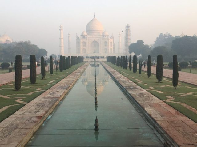 Taj Mahal from West Gate