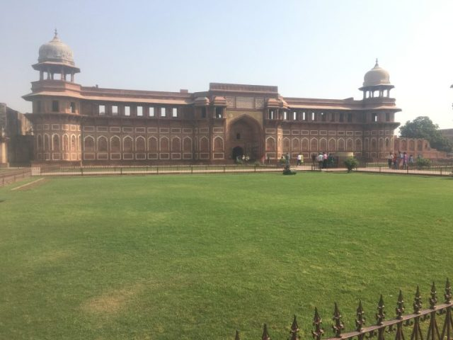 Jahangir Mahal (Palage) at Agra Fort, India