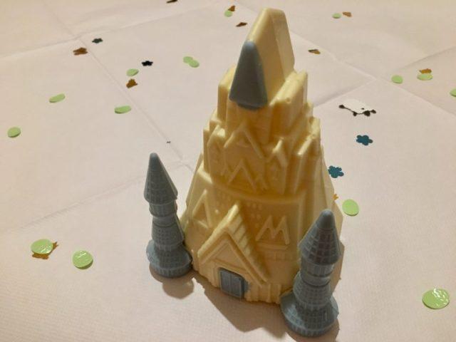 M&S Frozen castle egg