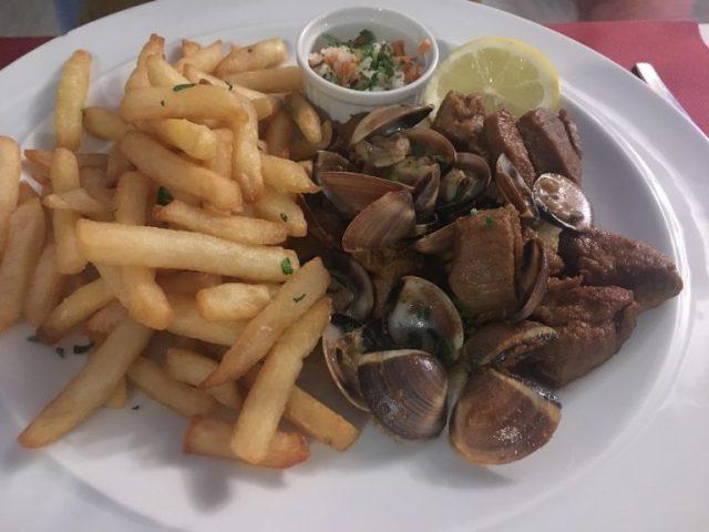 Pork and clams