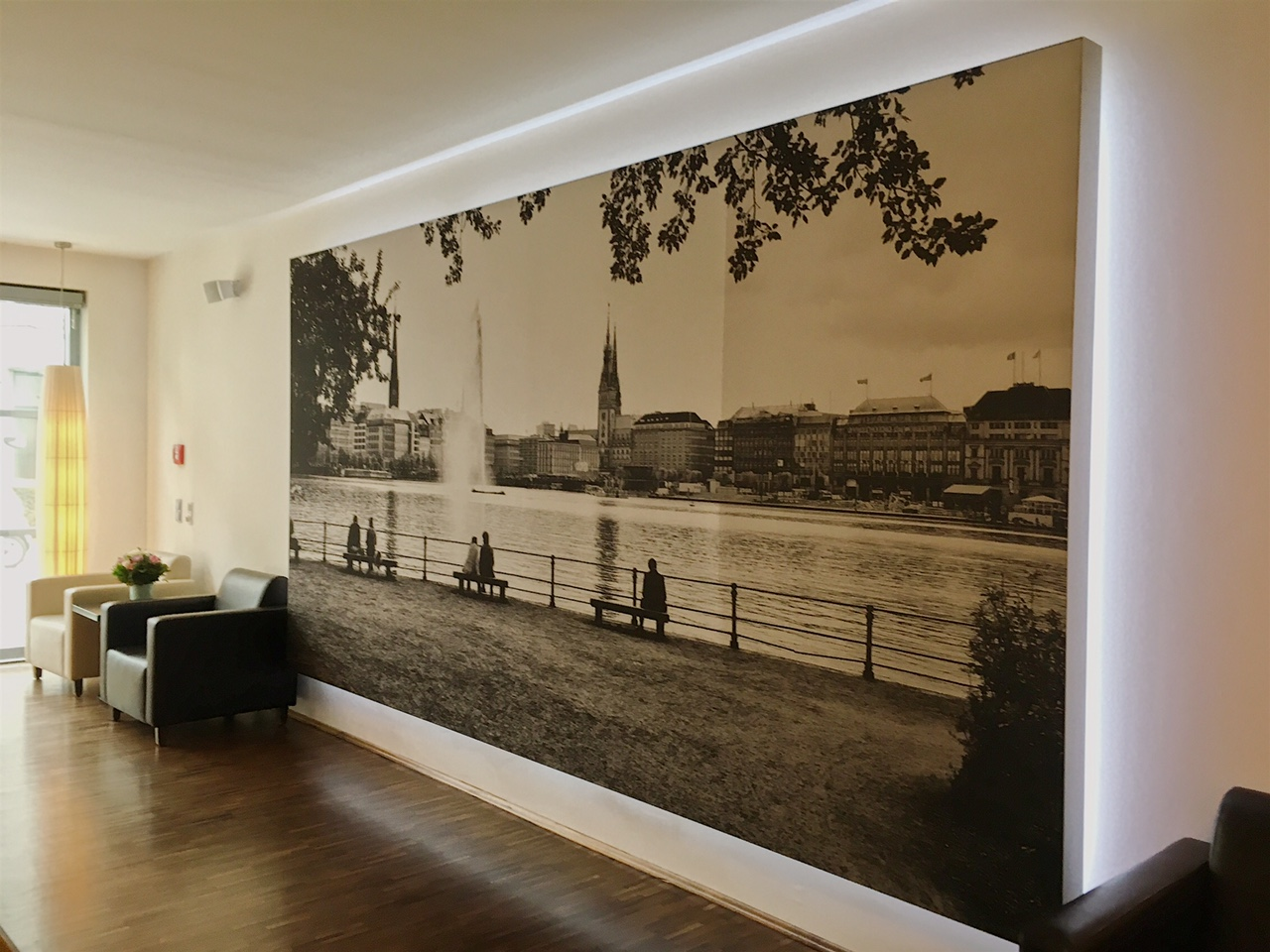 Heikotel Hamburg hotel - Hotel Am Stadtpark: Reception