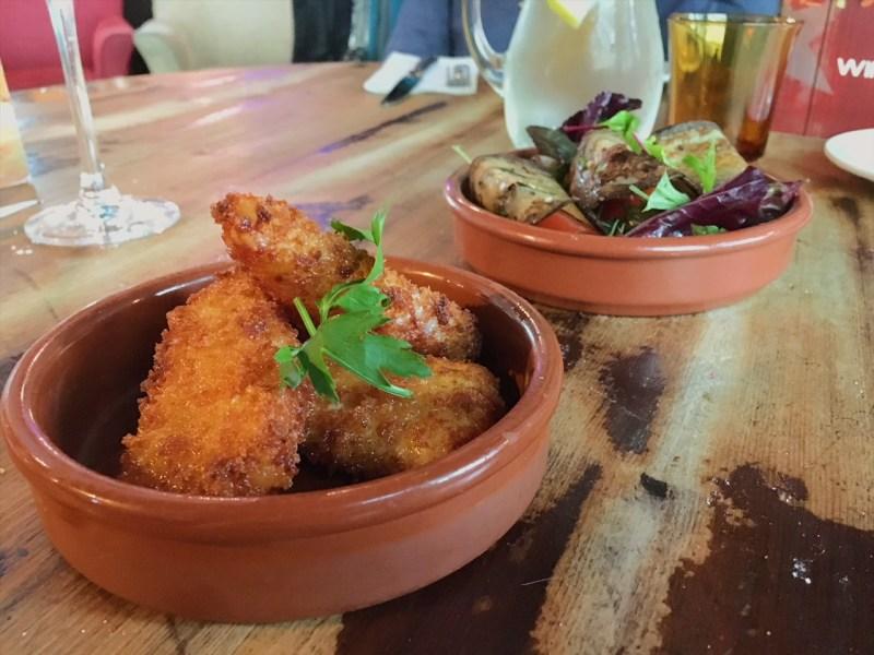 Queso frito at The Cuban restaurant, Bristol