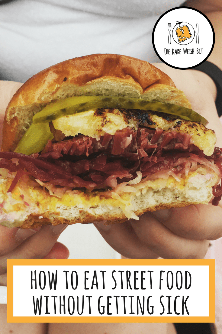 Street food is a great way to get a flavour for local cuisine while travelling all around the world, be it from street food trucks or market stalls. However, there are a few things to watch out if you want to avoid getting sick from eating street food. #streetfood #foodallergy #foodhygiene #foodpoisoning