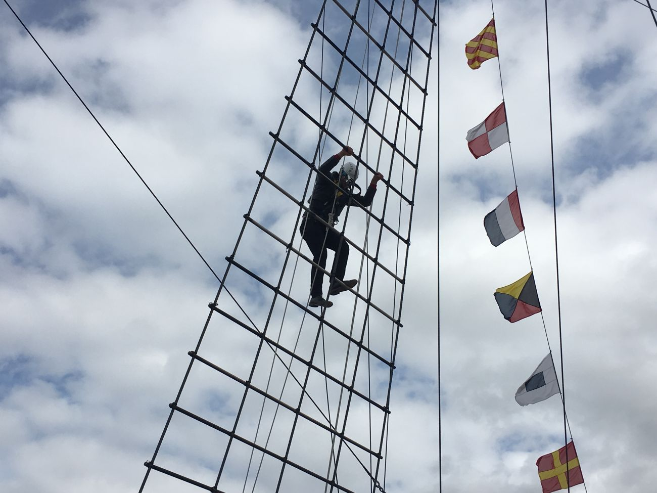 'Go Aloft' at SS Great Britain