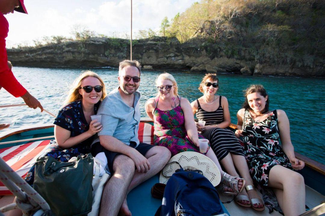 Sunset cruise aboard Savvy in Grenada