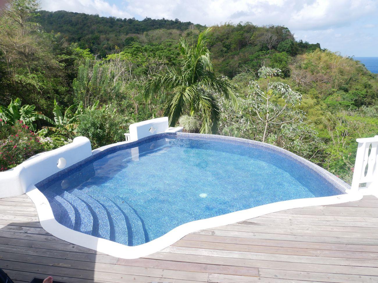 Mount Edgecombe's infinity pool