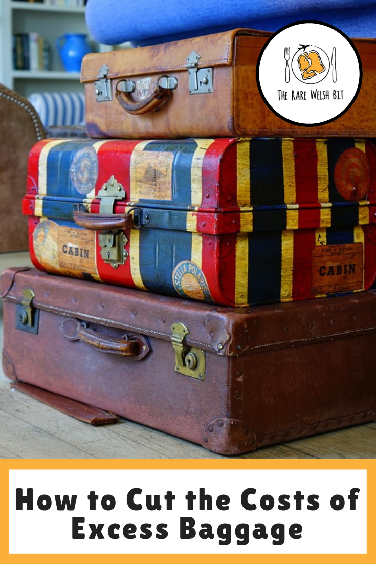 What happens when you get to the airport, only to be told you have oversized luggage? Here's how to cut the costs of travelling with excess baggage. #traveladvice #traveltips #flighttips #packingtips