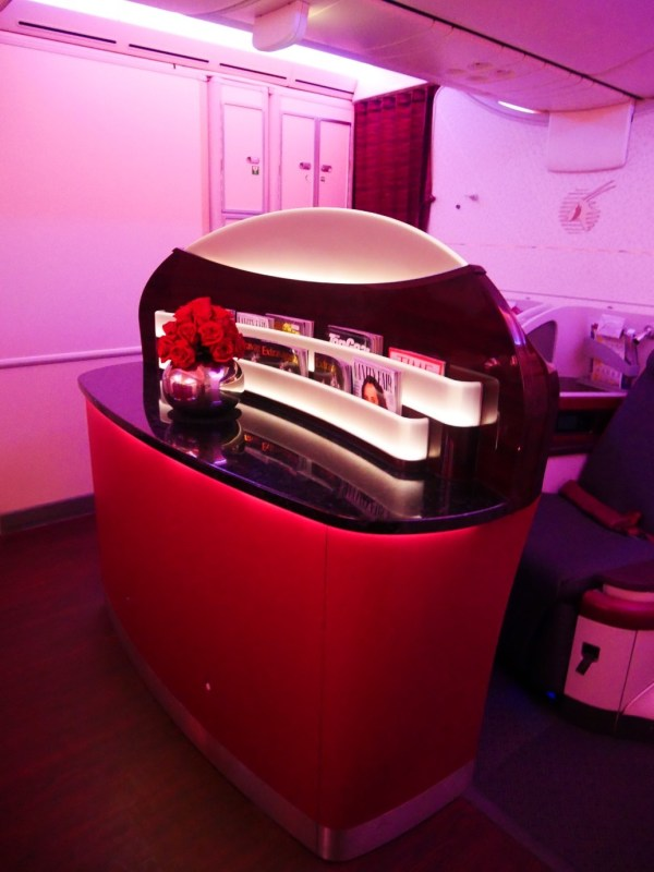 Complimentary magazines and newspapers - Qatar Airways Business Class
