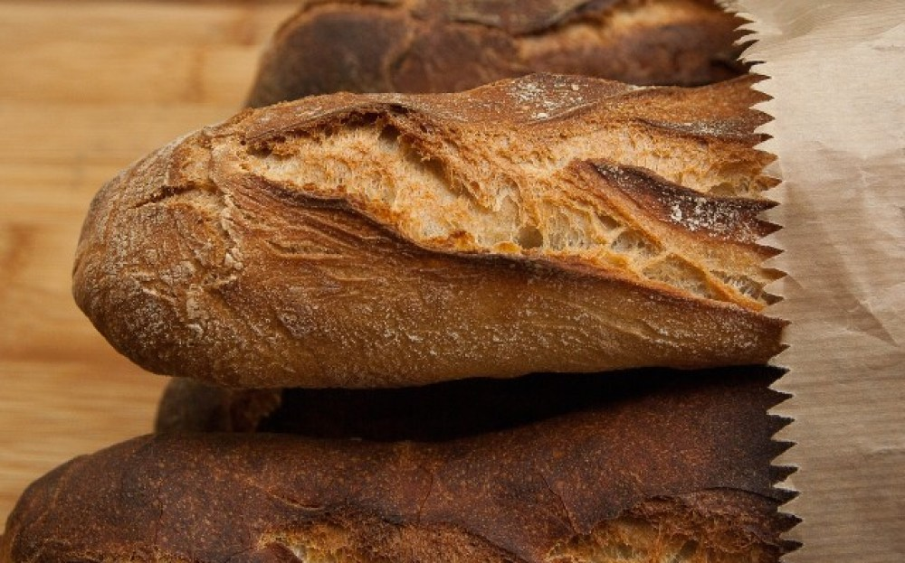 French baguettes - one of the best things to eat in Paris