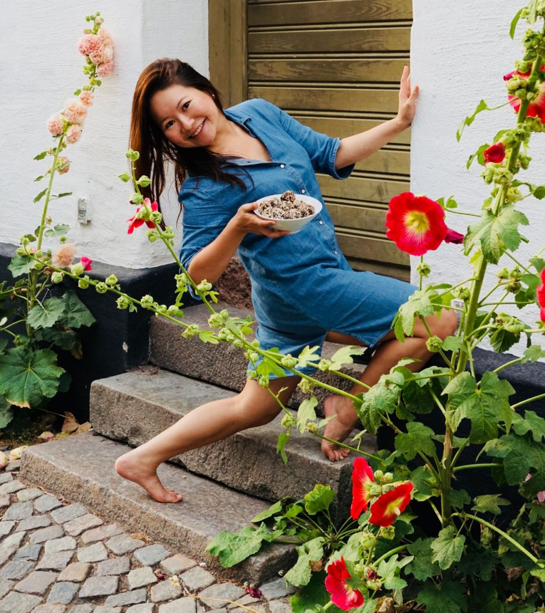 Alaine Handa, who has just written a new cookbook about Swedish chokladboller