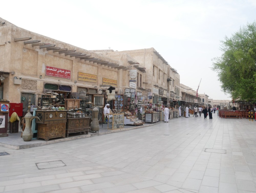 Exploring and shopping at Souq Waqif is one of the best things to do in Doha