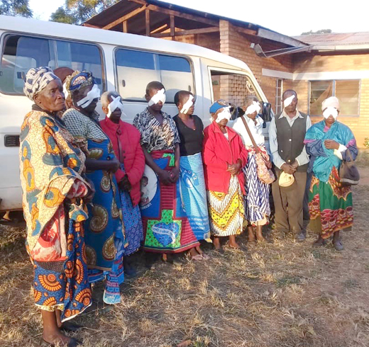 Patients post-op at Embangweni