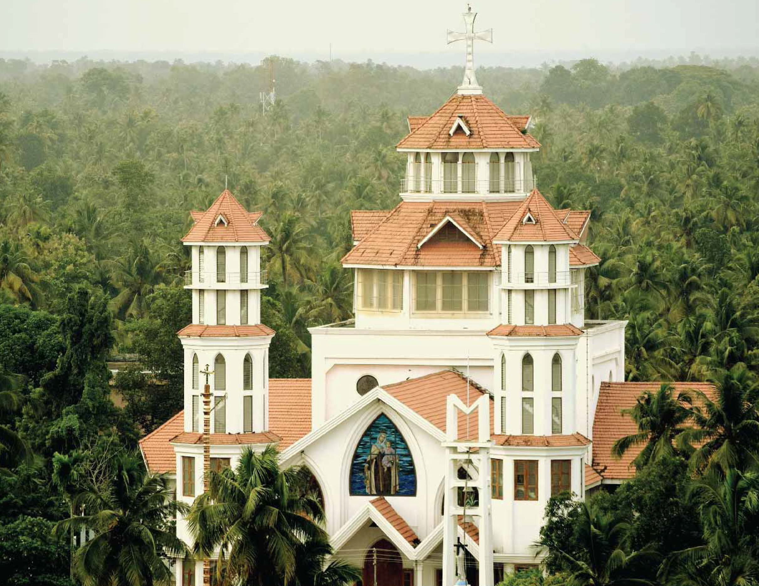 Churches in Ashtamudi
