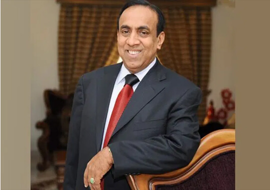Ravi Pillai to Invest Rs 11k Cr in Hospitality Biz
