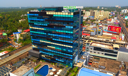 Aerial View - The Raviz Calicut