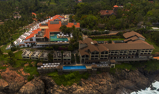 Aerial View - The Raviz Kovalam