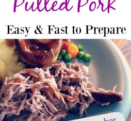 Slow cooker pulled pork - fast and easy to make recipe