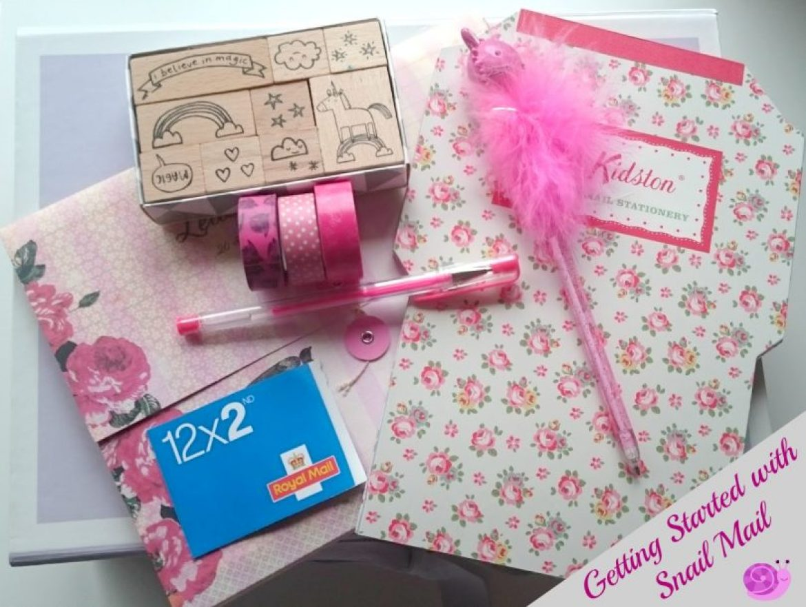 Snail Mail Kit and supplies - Help getting started with snail mailing