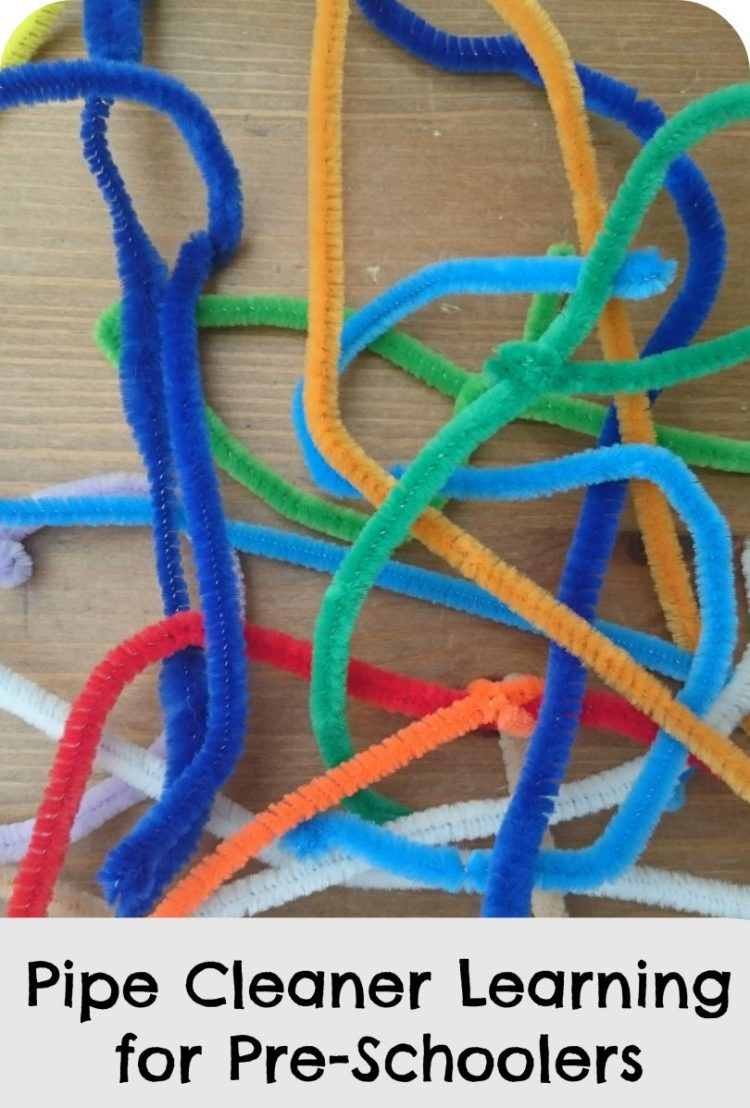 Pipe Cleaner Learning for Pre-Schoolers