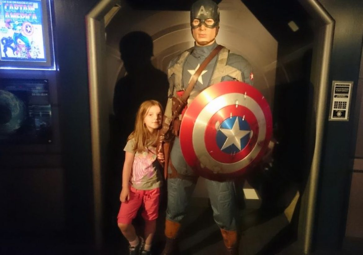 Madame Tussauds Captain America
