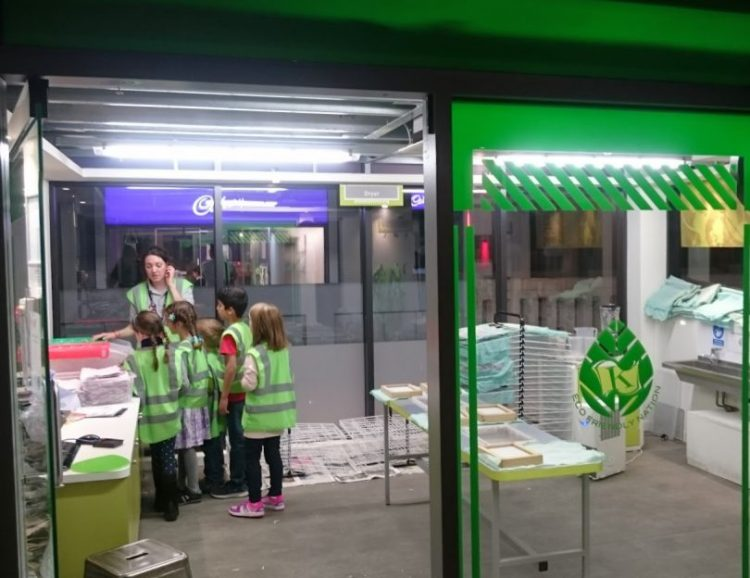 kidzania recycling