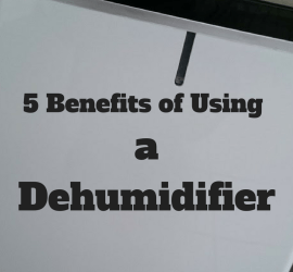 5 Benefits of Using a Dehumidifier