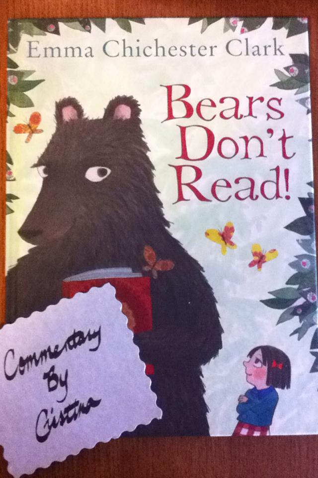 Commentary by Cristina, Bears, Usborne Books & More, Reading, Childhood