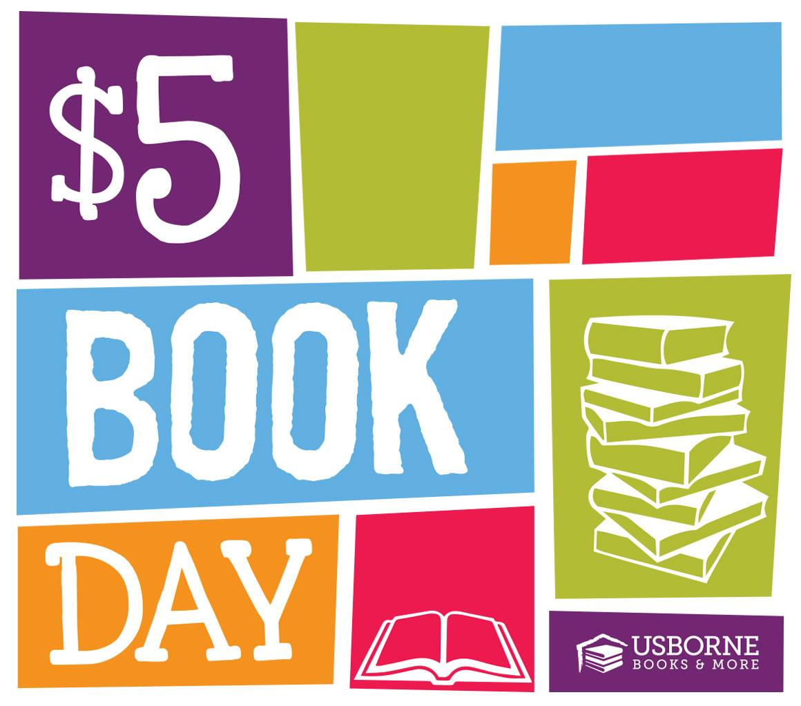 $5 Book Day with Usborne Books & More