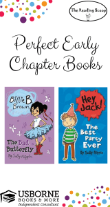 Early Chapter Books, similar to Junie B., Usborne Books & More, reading