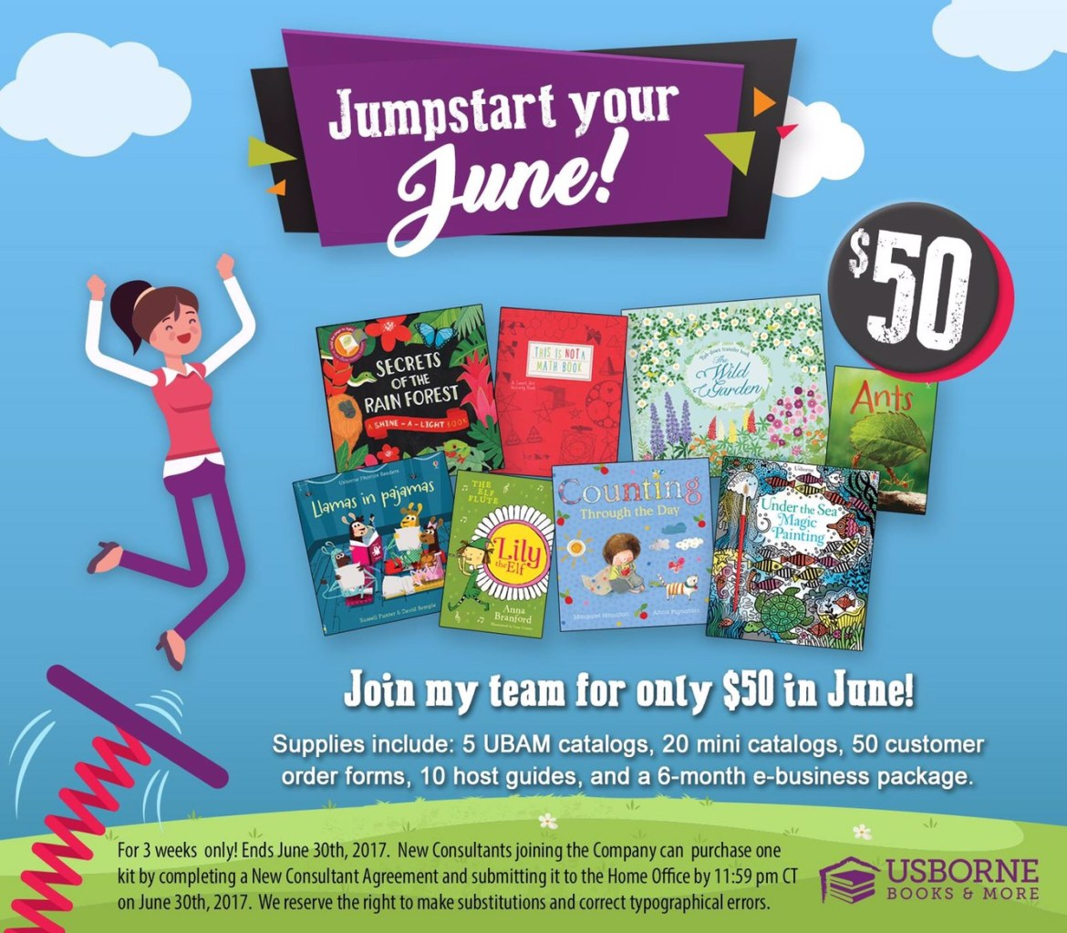 Join Usborne for $50