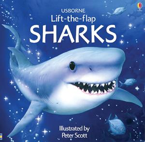 Shark Books, Usborne Books, Find more Books at http://thereadingscoop.com