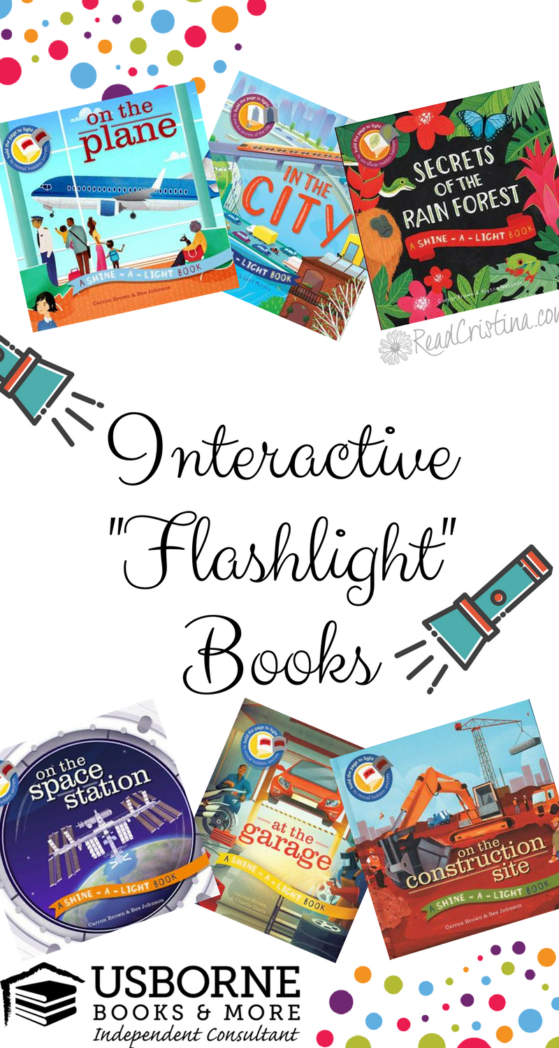 Interactive Shine-a-Light Books