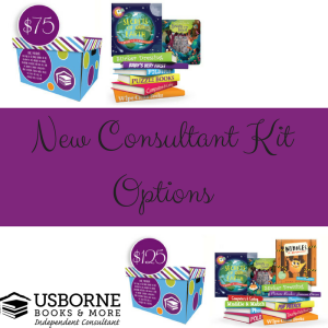 New Consultant Kit Options, Usborne Books & More, Joining Fee, Stay at Home Mom