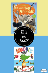 This or That? Animal Books for 4-year-olds.