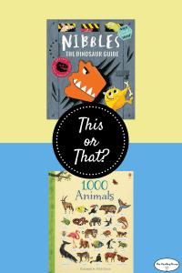 This or That? Animal Books for All Ages!