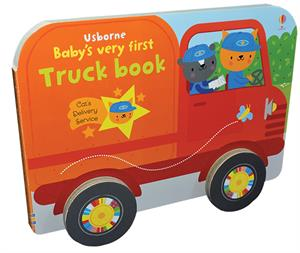 New Books 2019 Baby's Very First Truck Book www.thereadingscoop.com