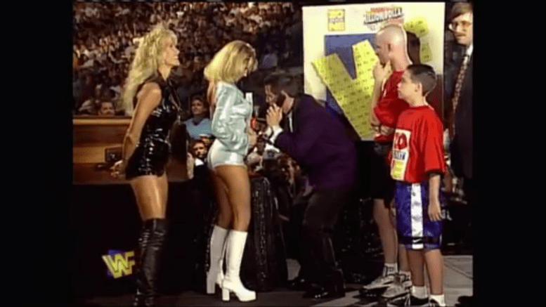 Summer Slam Memories (1997): Austin Breaks His Neck And No One Wins A Million Dollars, Sunny, Sable, Todd Pettingill